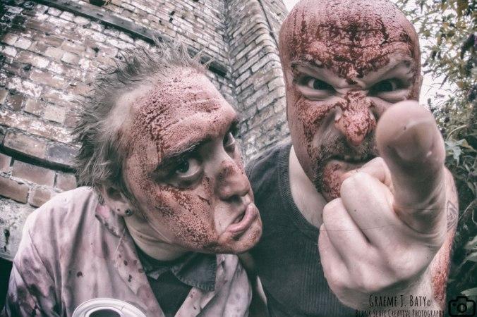 Twice the Trauma - band promo photo - grindcore metal