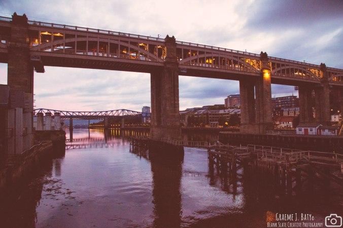 High Level Bridge - Newcastle upon Tyne August 2015