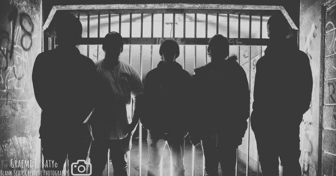 Aurion - band promo photo 2014 - newcastle upon tyne