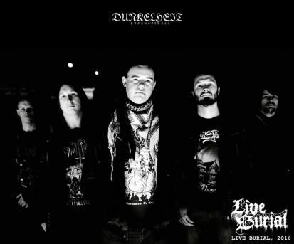 Live Burial metal uk Newcastle 2016 band promo