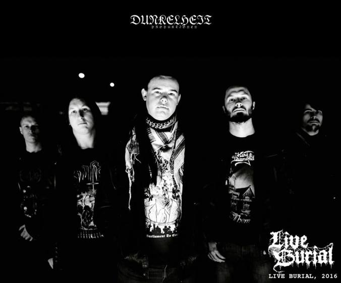 Live Burial metal uk Newcastle 2016 band promo