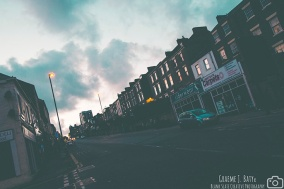 Newcastle upon Tyne - Westgate Road sunset