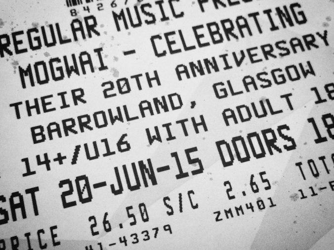 Mogwai - Glasgow Barrowland 2015