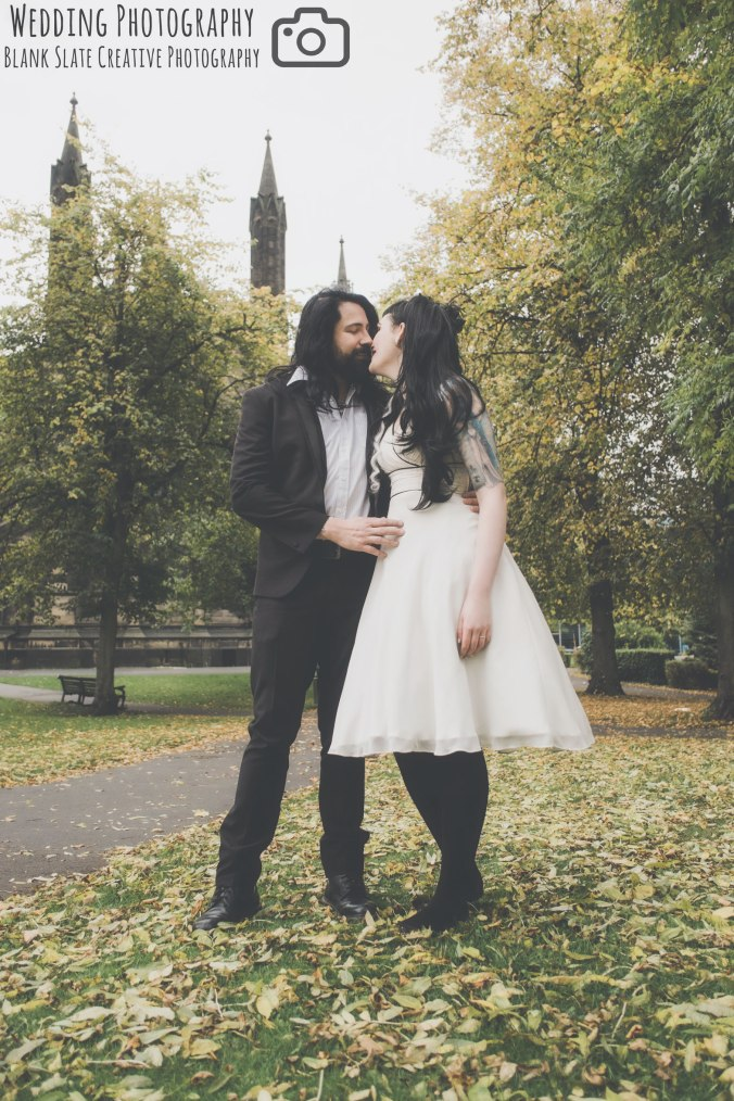 Rock 'n' Roll themed Wedding Photography Newcastle upon Tyne