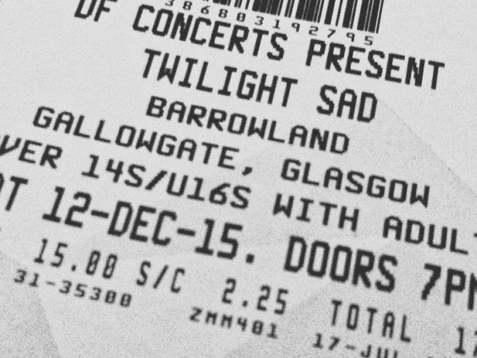 twilight sad glasgow 2015 ticket