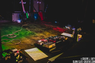 Future of the Left - April 2016 - The Cluny pedal board
