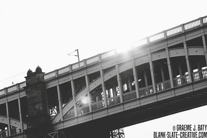 Newcastle black and white