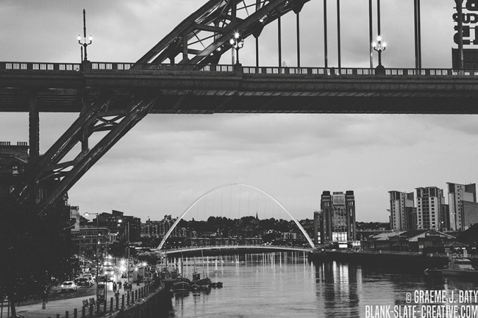 Newcastle black and white 15085487