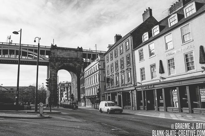 Newcastle black and white 20145682