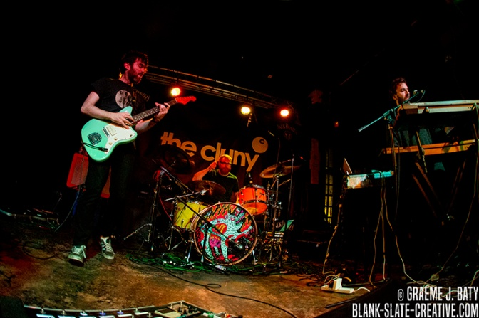 Three Trapped Tigers - Cluny Newcastle - November 2016