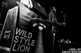 Wild Style Lion - November 2016 - Glasgow ABC