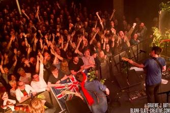 British Sea Power - April 2017 - Newcastle Riverside - Crowd - Waving Flags