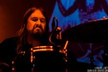 Angel Witch - Riverside Newcastle - August 2017 drummer,