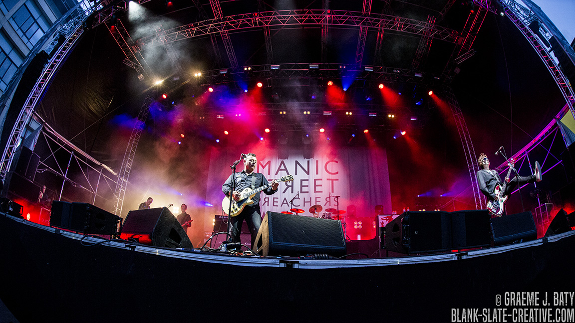 Manic Street Preachers – August 2017 – Live from Times Square Newcastle- PHOTO FEATURE
