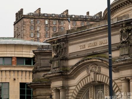 Edinburgh, Scotland - usher hall